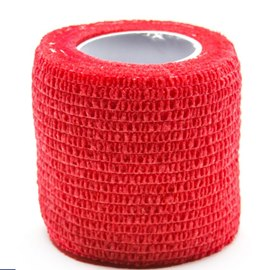 Precision Medical Cohesive Wrap Case of 12 Rolls Red