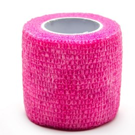 Precision Medical Cohesive Wrap Case of 12 Rolls Pink
